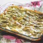 Lasagne al pesto con cozze, vongole e gamberetti