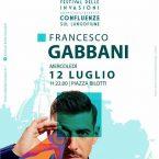 Cosenza: mercoledì Francesco Gabbani in concerto a piazza Bilotti