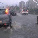 Maltempo: nuova allerta per possibili precipitazioni intense