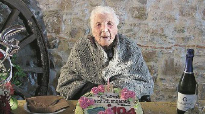 La Calabria dei record: i 104 anni di nonna Margherita