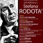 """Il """"Telesio"""" di Cosenza intitola la biblioteca a Stefano Rodotà"""
