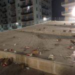 [Fotonotizia]Cosenza: piazza Bilotti pattumiera a cielo aperto