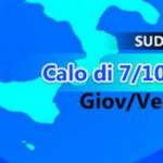 Meteo: temperature in calo di 10 gradi